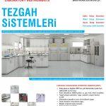laboratuvarlar için tezgah sistemleri